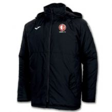 Crewe United Anorak Everest Jacket Black - Adults 2018